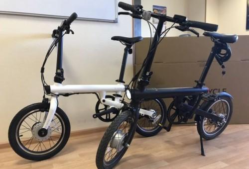 Купить Электровелосипед складной Xiaomi MiJia QiCycle
