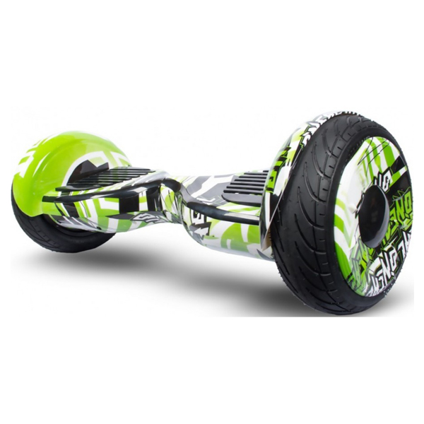 """Купить гироскутер Smart Balance 10.5"""" Premium ТАО-ТАО (графити зеленый)"""