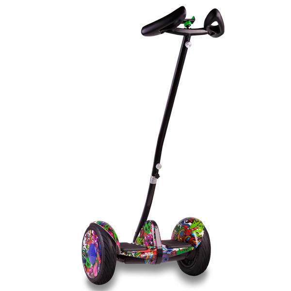 Купить MiniRobot Ninebot mini + второй мягкий руль (хип-хоп фиолетовый)
