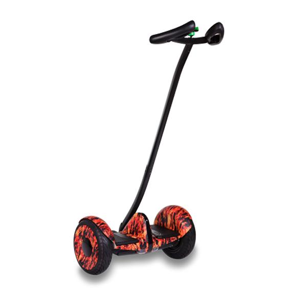 Купить MiniRobot Ninebot mini + второй мягкий руль (огонь)