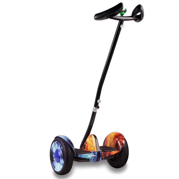 Купить MiniRobot Ninebot mini + второй мягкий руль (огонь и вода)