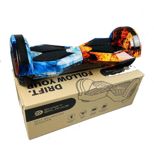 """Купить Гироборд Smart Balance 8"""" Огонь и лед"""