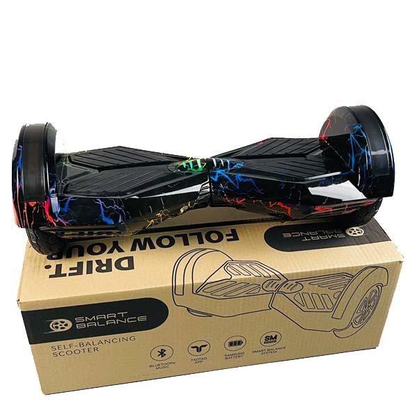 """Купить Гироборд Smart Balance 8"""" Цветная Молния"""